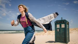 Jodie Whittaker as the Doctor in 'Doctor Who'. Photo: Ben Blackall/BBC