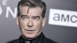 """Pierce Brosnan attends the LA premiere of """"The Son"""" Season One held at ArcLight Hollywood on Monday, April 3, 2017, in Los Angeles. (Photo by Richard Shotwell/Invision/AP)"""