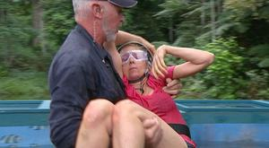 Gillian McKeith fainted in 2010.