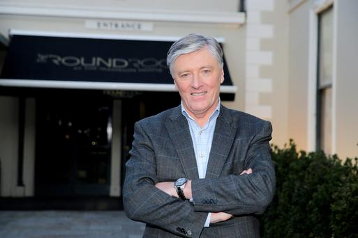 Pat Kenny returned to our small screens last night on his new UTV chatshow 'In the Round'
