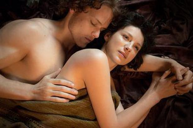 JOURNEY GIRL: Caitriona Balfe took up modelling before landing a role in 'Outlander'