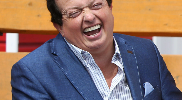 RTE Presenter Marty Morrissey