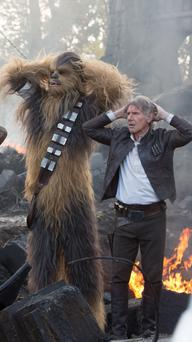 Hans up: Star Wars: The Force Awakens is among the films that will make their pay-TV debut on Sky Cinema.
