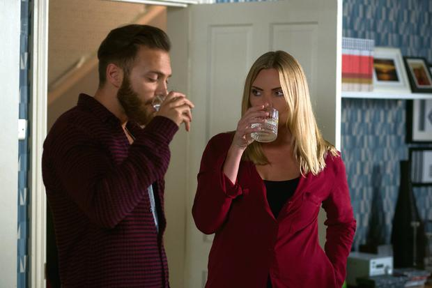 Samantha Womack as Ronnie Mitchell in Eastenders.