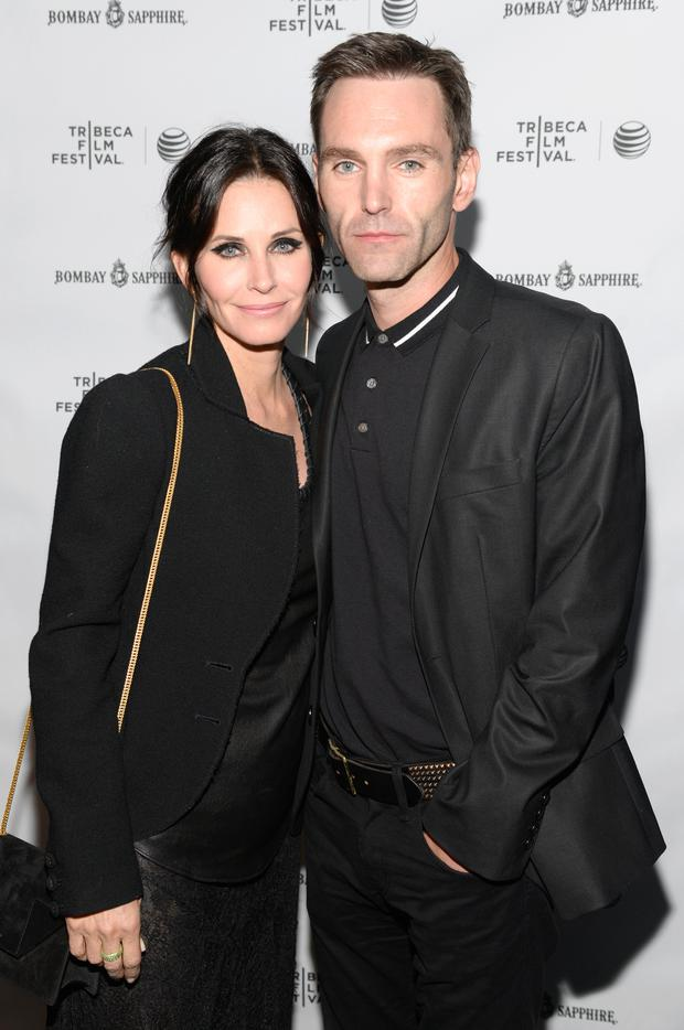 Courteney Cox and Johnny McDaid Photo: Getty