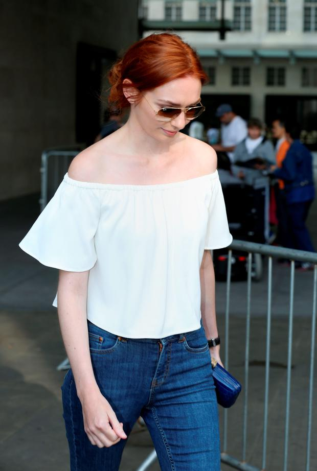Poldark star Eleanor Tomlinson. Photo: PA