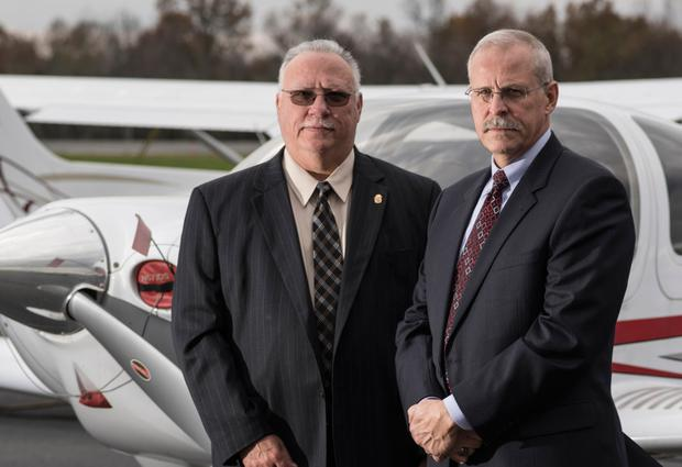 Real life: DEA agents Javier Pena and Steve Murphy, whose take down of Pablo Escobar is documented in Netflix series 'Narcos'