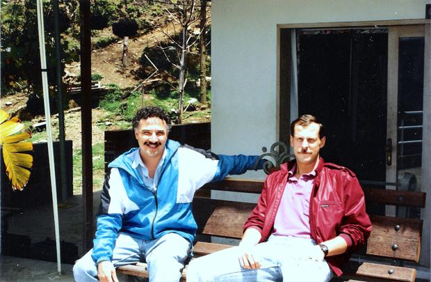 Partners: DEA agents Javier Pena and Steve Murphy
