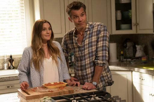 Meat is murder: Drew Barrymore and Timothy Olyphant star in Santa Clarita Diet