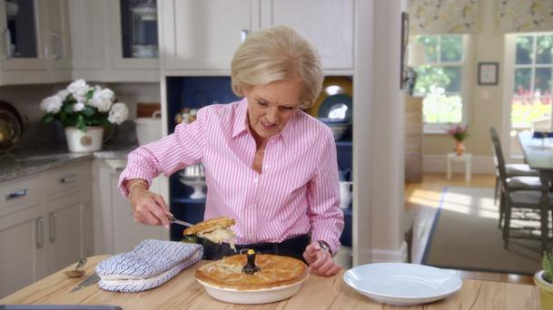 Is that a pie? Credit: BBC2