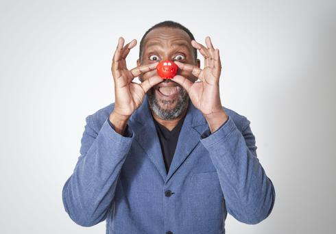 Embargoed to 0001 Tuesday March 14 For use in UK, Ireland or Benelux countries only Undated BBC handout photo of Lenny Henry who launched the first Red Nose Day event in 1988 and will present the show on the night.