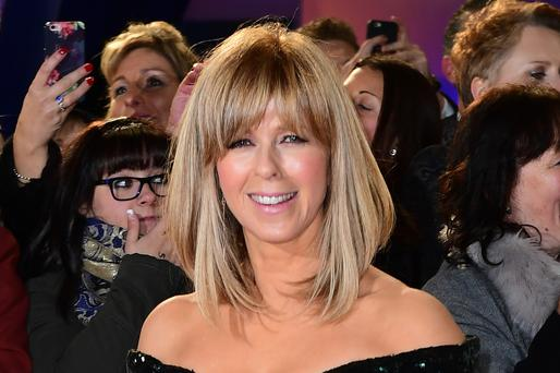 Kate Garraway arriving at the National Television Awards 2017, held at The O2 Arena, London. PRESS ASSOCIATION Photo. Picture date: 25th January, 2017. See PA Story SHOWBIZ NTAs. Photo credit should read: Ian West/PA Wire