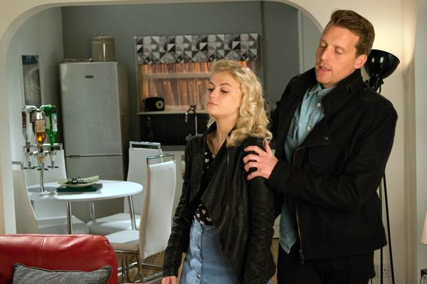 FROM ITV STRICT EMBARGO - No Use Tuesday 7 February 2017 Coronation Street - Ep 9104 Friday 17 February 2017 - 2nd Ep Choosing Nathan [CHRISTOPHER HARPER] over Rana, Bethany Platt [LUCY FALLON] climbs into his car. Nathan takes Bethany back to his flat. Bethany apologises profusely for questioning his innocence and swears that from now on she will trust him implicitly. Picture contact: david.crook@itv.com on 0161 952 6214 Photographer - David Crook This photograph is (C) ITV Plc and can only be reproduced for editorial purposes directly in connection with the programme or event mentioned above, or ITV plc. Once made available by ITV plc Picture Desk, this photograph can be reproduced once only up until the transmission [TX] date and no reproduction fee will be charged. Any subsequent usage may incur a fee. This photograph must not be manipulated [excluding basic cropping] in a manner which alters the visual appearance of the person photographed deemed detrimental or inappropriate by ITV plc Picture Desk. This photograph must not be syndicated to any other company, publication or website, or permanently archived, without the express written permission of ITV Plc Picture Desk. Full Terms and conditions are available on the website www.itvpictures.com