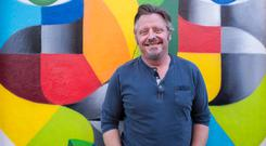 Colourful life: Charley Boorman offers a glimpse into his Wicklow childhood in new book Long Way Back. Photo: Doug O'Connor