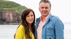 Outsiders: Jessie Wallace and Shane Ritchie star as Kat and Alfie Moon in Redwate