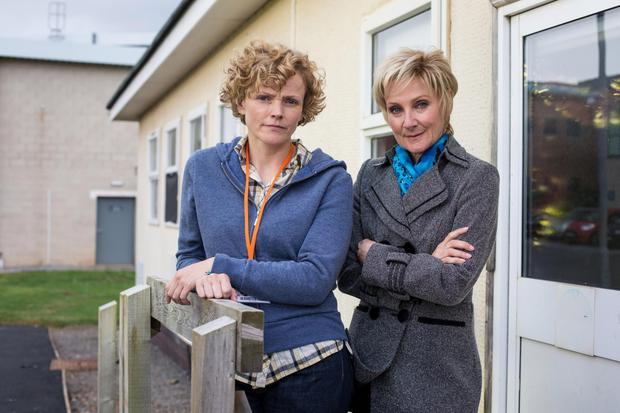 Campaign: Maxine Peake as Sara Rowbotham and Lesley Sharp as DC Margaret Oliver in Three Girls