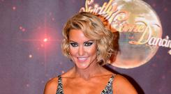 Natalie Lowe said she had moments of doubt about her decision to quit Strictly (Ian West/PA)