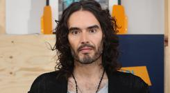 Russell Brand attending a launch event for charity RAPt's new employment services for addicts and ex-offenders at the London Recovery Hub (Jonathan Brady/PA)