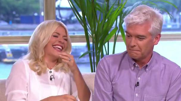 This Morning thrown into hilarious chaos as pony poos live on-air (ITV grab)