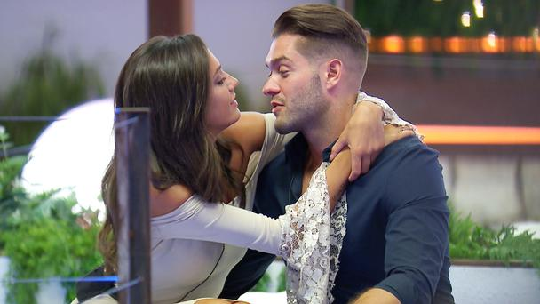 From ITV Studios Love Island: SR3: TX30 on ITV2 Pictured: Tyla Jonny snog. This photograph is (C) ITV Plc and can only be reproduced for editorial purposes directly in connection with the programme or event mentioned above, or ITV plc. Once made available by ITV plc Picture Desk, this photograph can be reproduced once only up until the transmission [TX] date and no reproduction fee will be charged. Any subsequent usage may incur a fee. This photograph must not be manipulated [excluding basic cropping] in a manner which alters the visual appearance of the person photographed deemed detrimental or inappropriate by ITV plc Picture Desk. This photograph must not be syndicated to any other company, publication or website, or permanently archived, without the express written permission of ITV Plc Picture Desk. Full Terms and conditions are available on the website www.itvpictures.co.uk. For further information please contact: james.hilder@itv.com / 0207 157 3052
