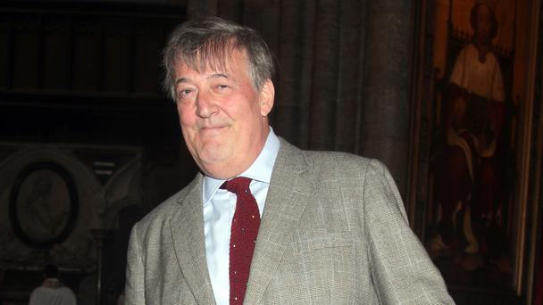 Stephen Fry will hit the road on for a mini book tour (Yui Mok/PA)