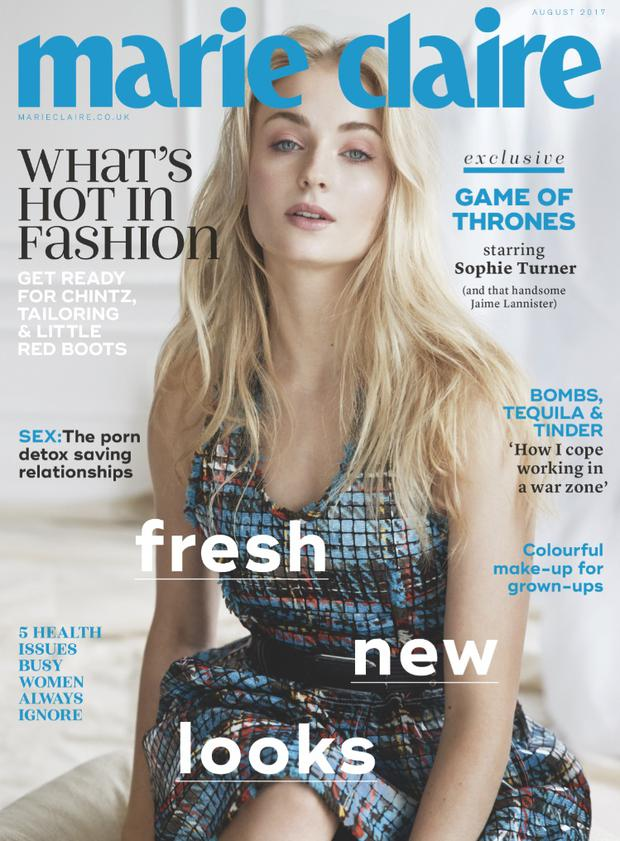 Sophie Turner (Marie Claire UK/David Roemer)