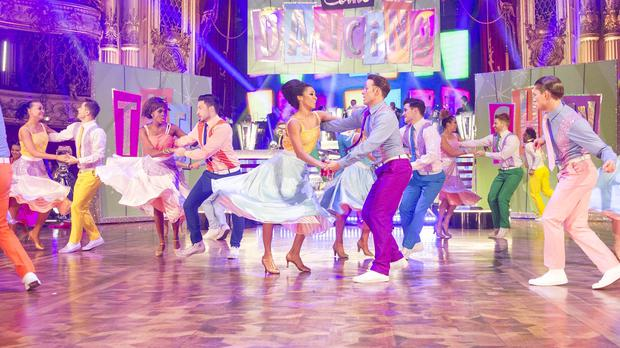 Stars of Strictly Come Dancing will take part (Guy Levy/BBC)
