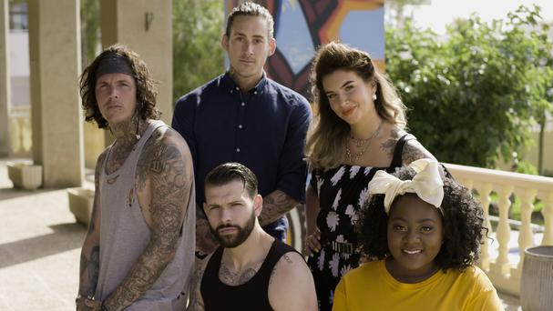 New Tattoo Fixers star describes his 'creepy' first cover-up of the series (Studio Lambert/E4)