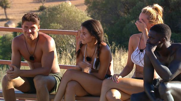 Two to leave Love Island as Twitter game threatens relationships in the villa (ITV)
