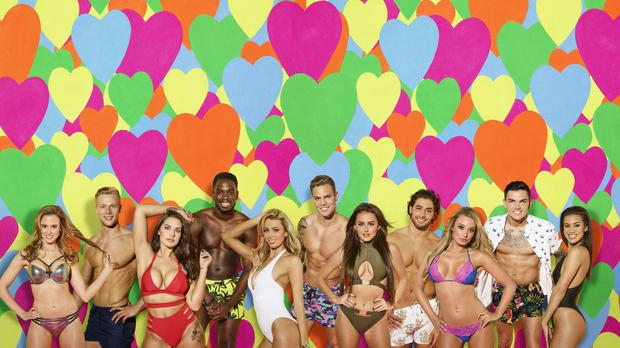 Contestants on Love Island (Joel Anderson/ITV)