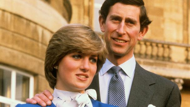 The Prince of Wales and Lady Diana Spencer in 1981 (PA)
