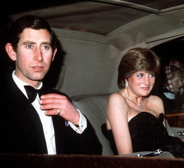 Prince Charles and his then fiancee Lady Diana Spencer (PA)