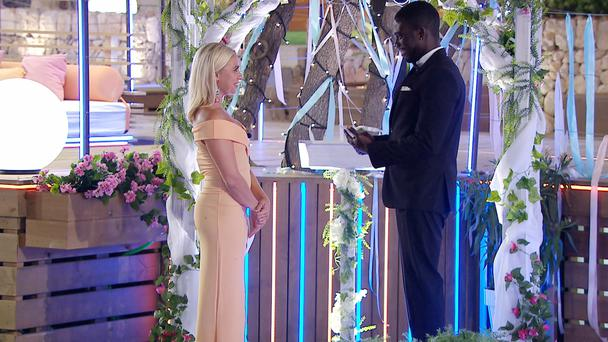 Marcel Somerville and Gabby Allen (ITV)