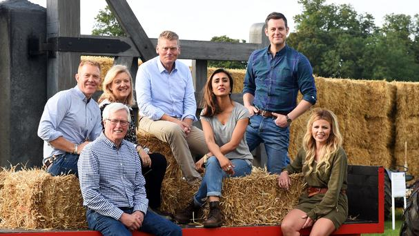 Countryfile's Adam Henson with his fellow presenters (Justin Goff/Goffphotos.com)