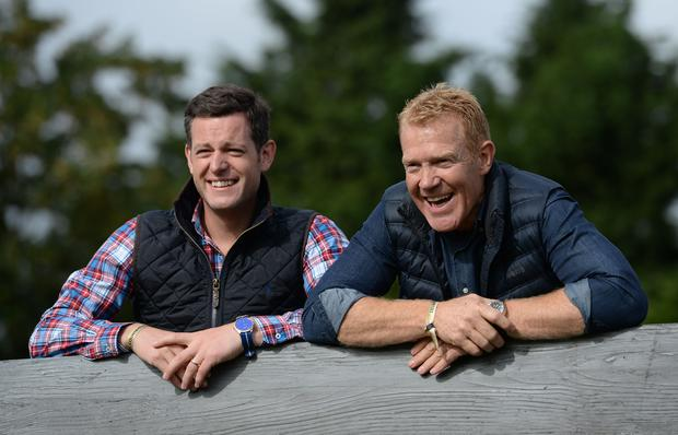 Matt Baker (left) and Adam Henson (Joe Giddens/PA)
