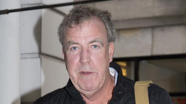 Jeremy Clarkson hospitalised with pneumonia