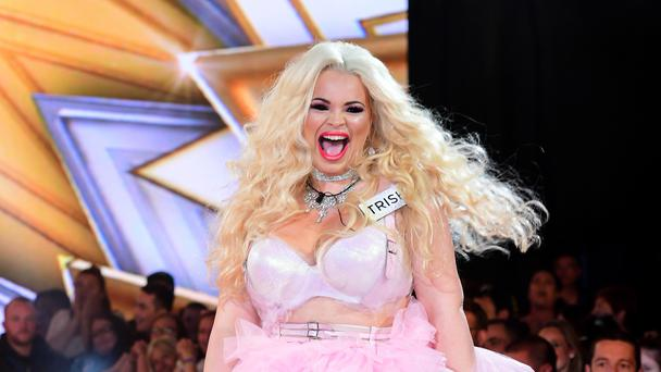 Trisha Paytas made a controversial exit (Ian West/PA)