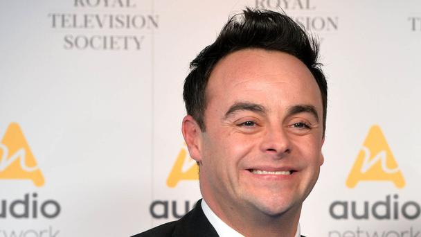 Ant McPartlin (Ian West/PA)