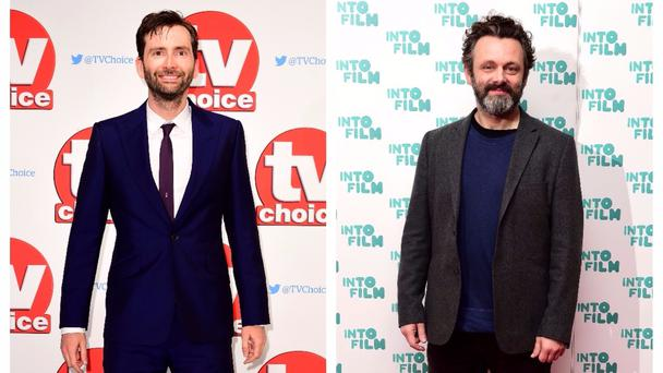David Tennant and Michael Sheen are set to line up for the six-part series (PA)