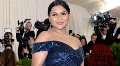 Mindy Kaling speaks about pregnancy for the first time (Aurore Marechal/PA)