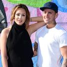 Charlotte Crosby and Stephen Bear.