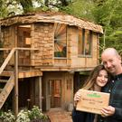 A picture of the Mushroom House on Amazing Spaces Shed Of The Year