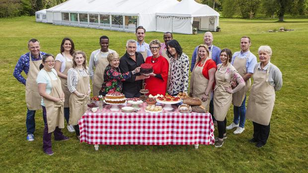 The 2017 crop of Great British Bake Off contestants (Channel 4)