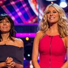 Claudia and Tess during last year's Strictly Come Dancing (BBC)