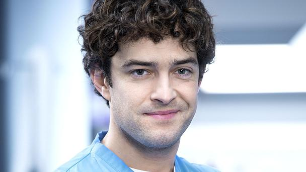 Lee Mead in Holby City (Warren Orchard/BBC)