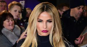 Katie Price on the red carpet (Ian West/PA)