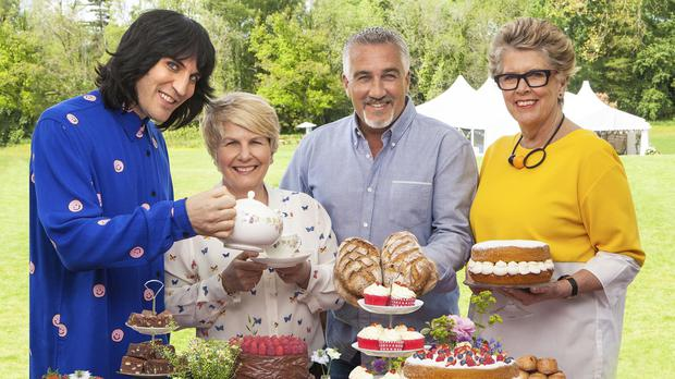 The new judges and presenters from The Great British Bake Off (Love Productions/Channel 4)