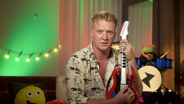 Josh Homme on CBeebies (CBeebies)
