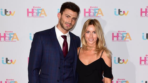 Jake Quickenden and Danielle Fogarty (Ian West/PA)