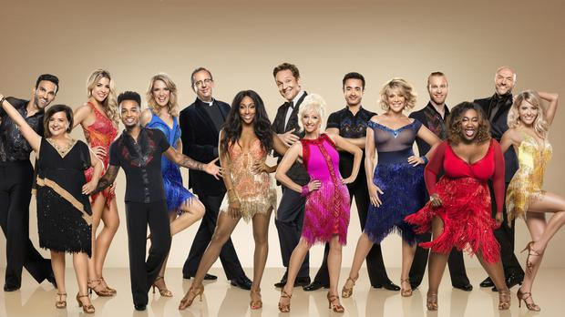 The full line-up of celebrities for Strictly (BBC/Ray Burmiston)